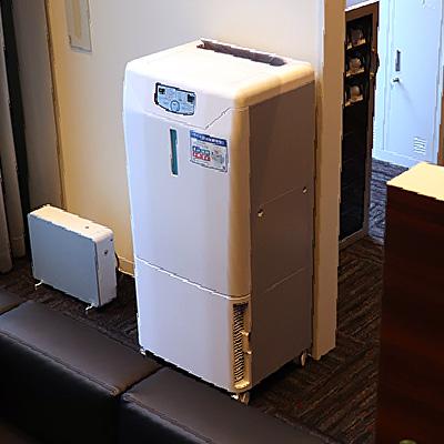 殺菌機能付き加湿空気清浄装置